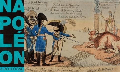 Visite découverte - Exposition L'arme à l'œil, Napoléon par la caricature