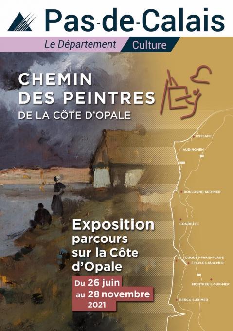 Chemin des peintres de la Côte d'Opale