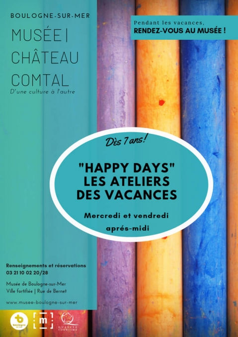 """""""Happy days"""" Les ateliers des vacances"""