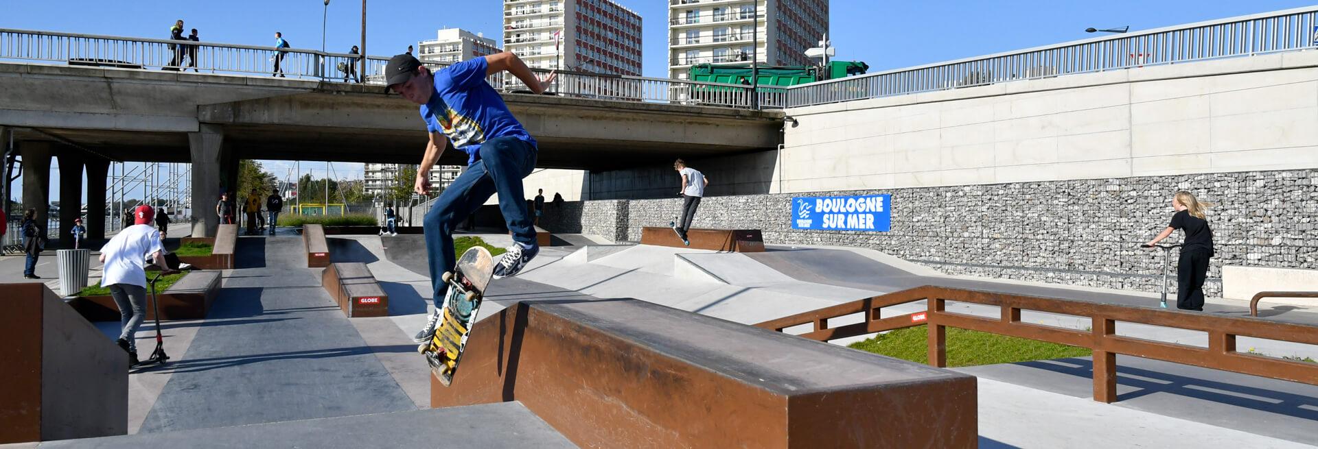 Skate park - Piscine boulogne sur mer ...