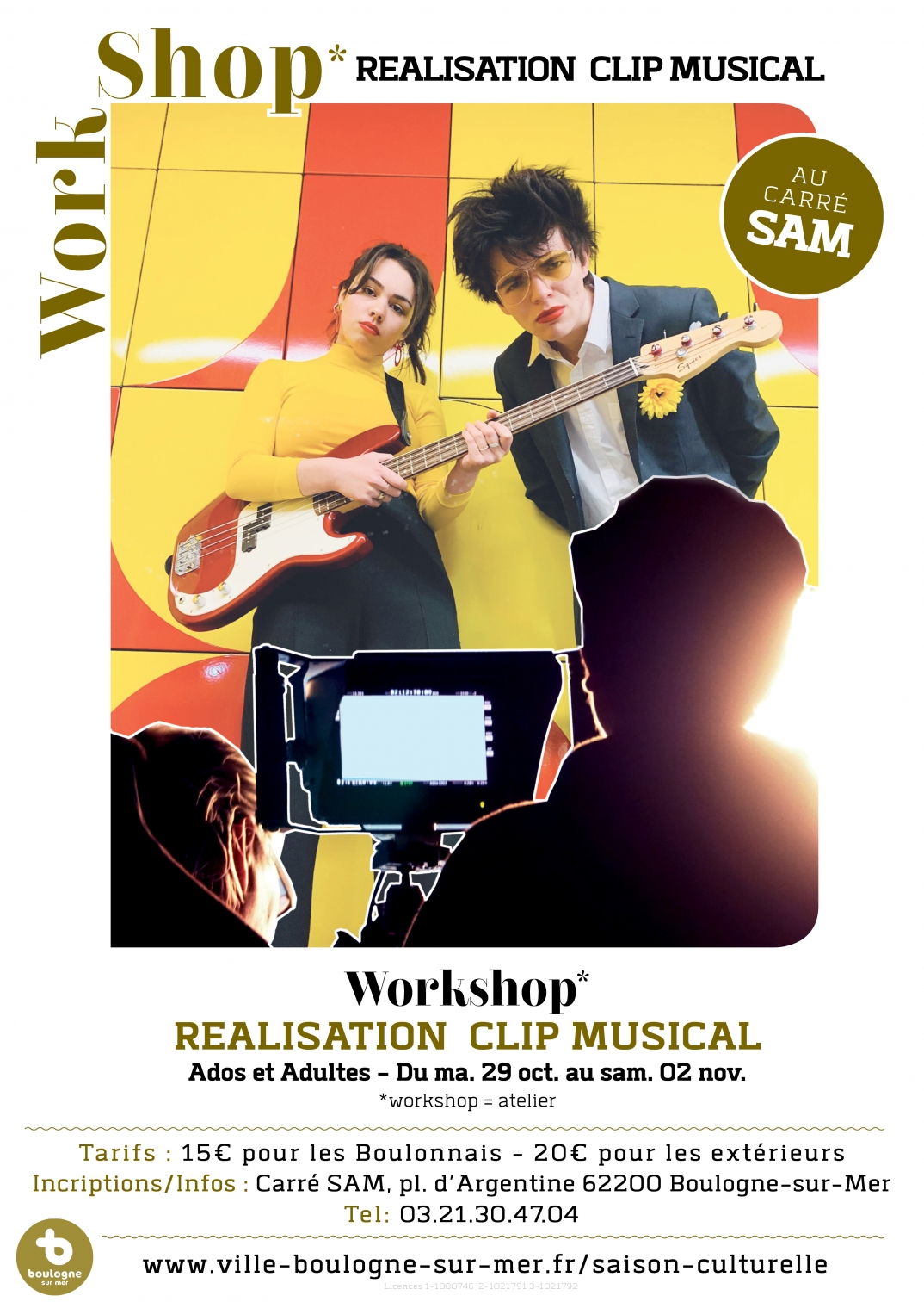 Workshop* Réalisation clip musical